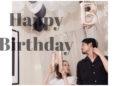 彼の誕生日でした☆バルーンでお家を飾り付け!手作りご飯でお祝いしたよ♡