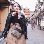 京都food💓金のアイスに高級天ぷらの値段に驚き😭笑