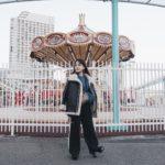 桜木町に 初詣 へ♡<br>おみくじはひかない一年!笑<br>147cmコーデ<br>珍しいカラーの合わせ。