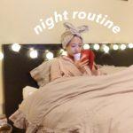【YouTube】ナイトルーティーンを丸っとお見せ!お家の様子、スキンケア、ボディケア、パジャマまで。