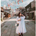Weekend at 川越 🕊<Br>#147cmコーデ 反応たくさんワンピ♡